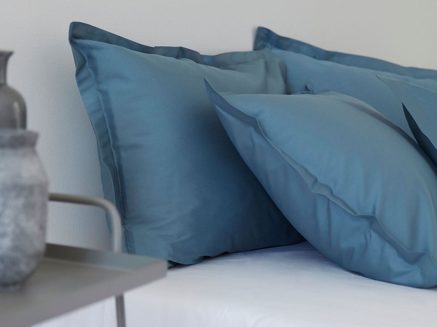 Pillowcase Vidd - North Sea Blue in the group Bedding / Pillowcases at A L V A (1044)
