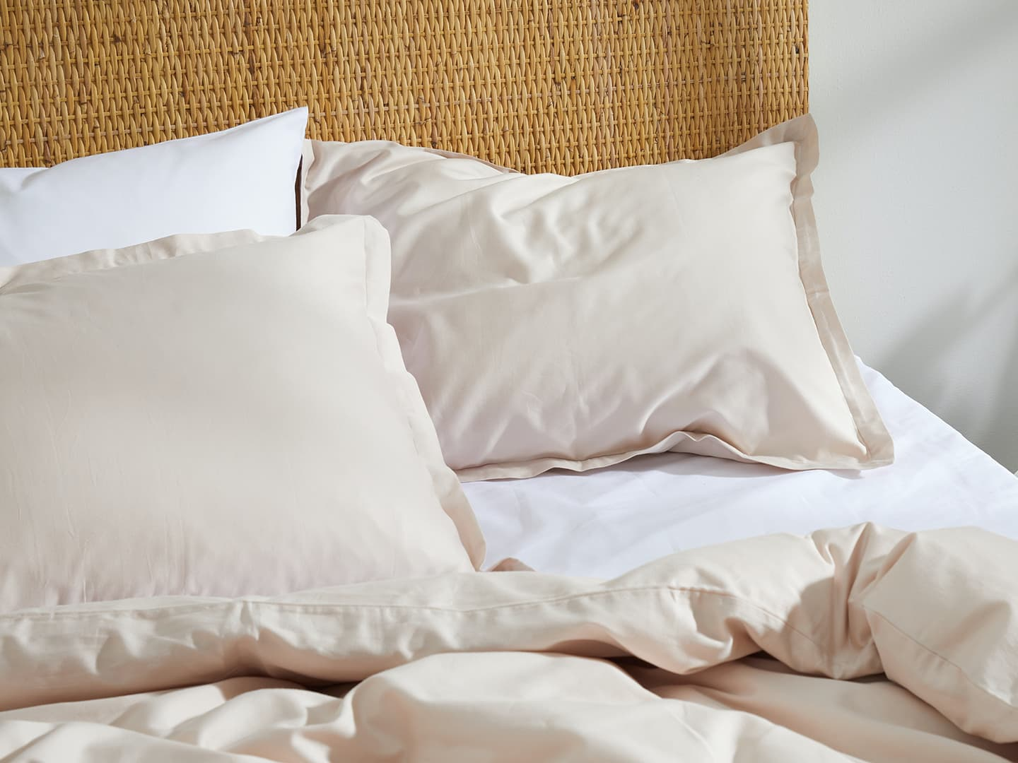 Pillowcase Vidd - Seashell Beige in the group Bedding / Pillowcases at A L V A (1104)