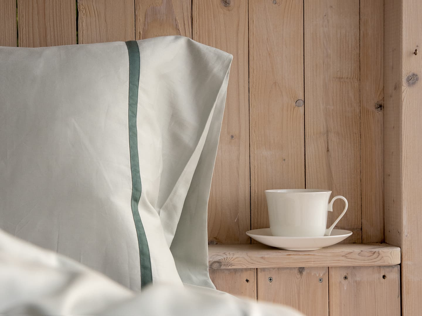 Pillowcase Gatt - Misty Green in the group Bedding / Pillowcases at A L V A (1106)