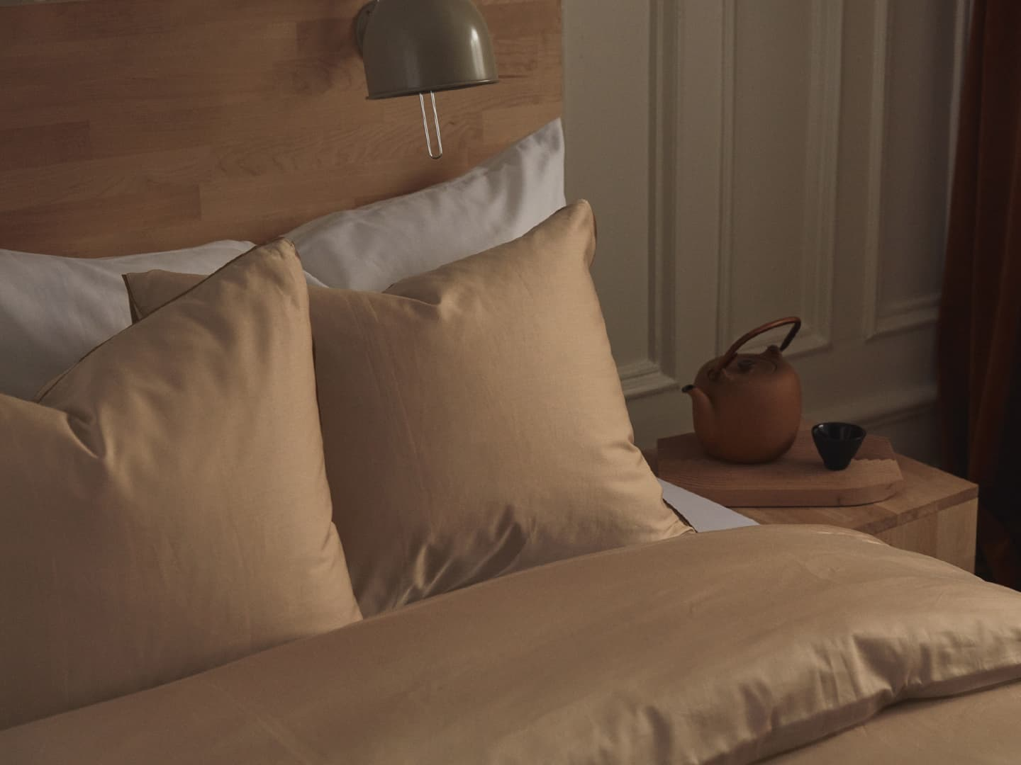 Pillowcase Strimma - Desert Sand in the group Bedding / Pillowcases at A L V A (1117)