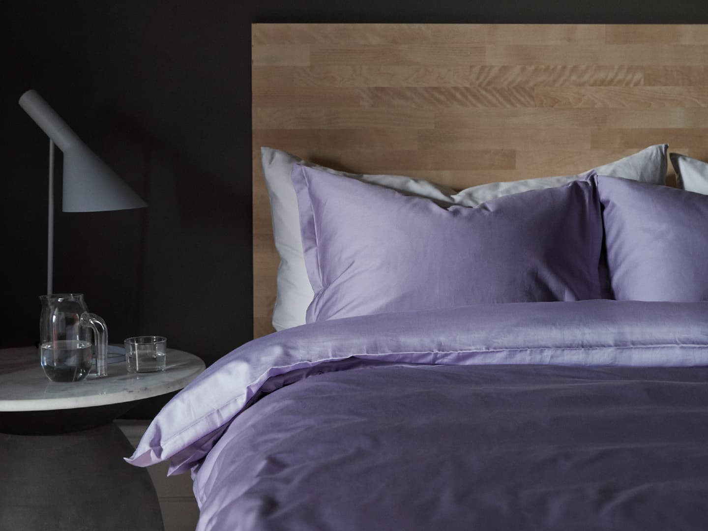 Duvet Cover Vidd - Dusty Lilac in the group Bedding / Duvet Covers at A L V A (1163)