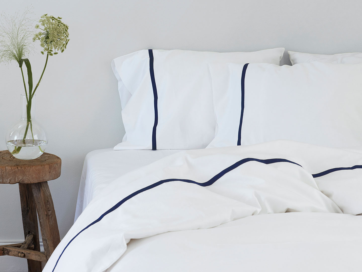 Duvet Cover Gatt - Cloud White in the group Bedding / Duvet Covers at A L V A (1171)