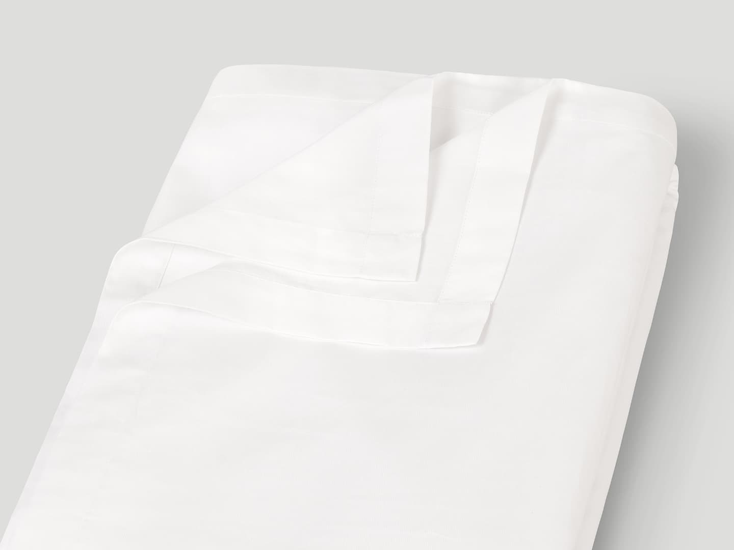 Flat Sheet Lind - Cloud White