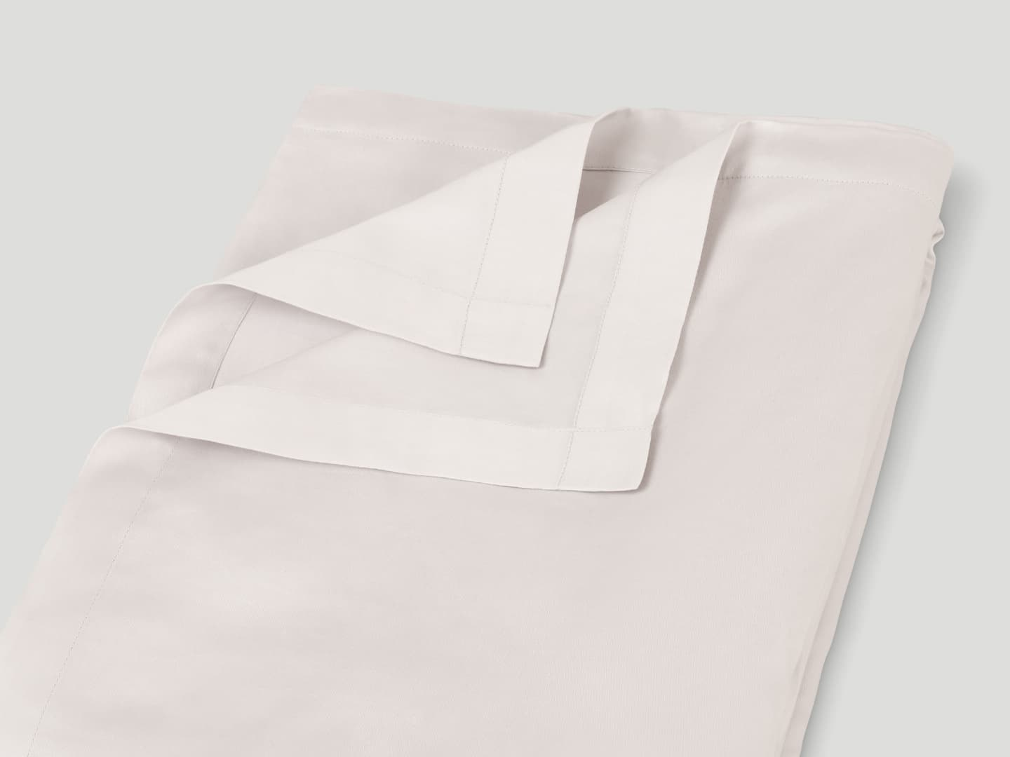 Flat Sheet Lind - Pearl Grey