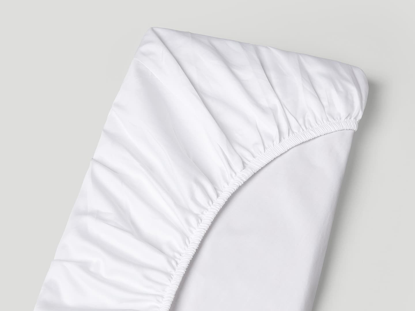 Fitted Sheet Lind - Cloud White