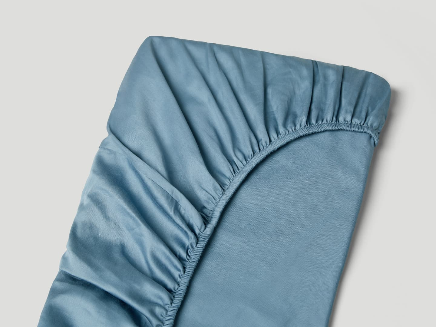 Fitted Sheet Lind - North Sea Blue
