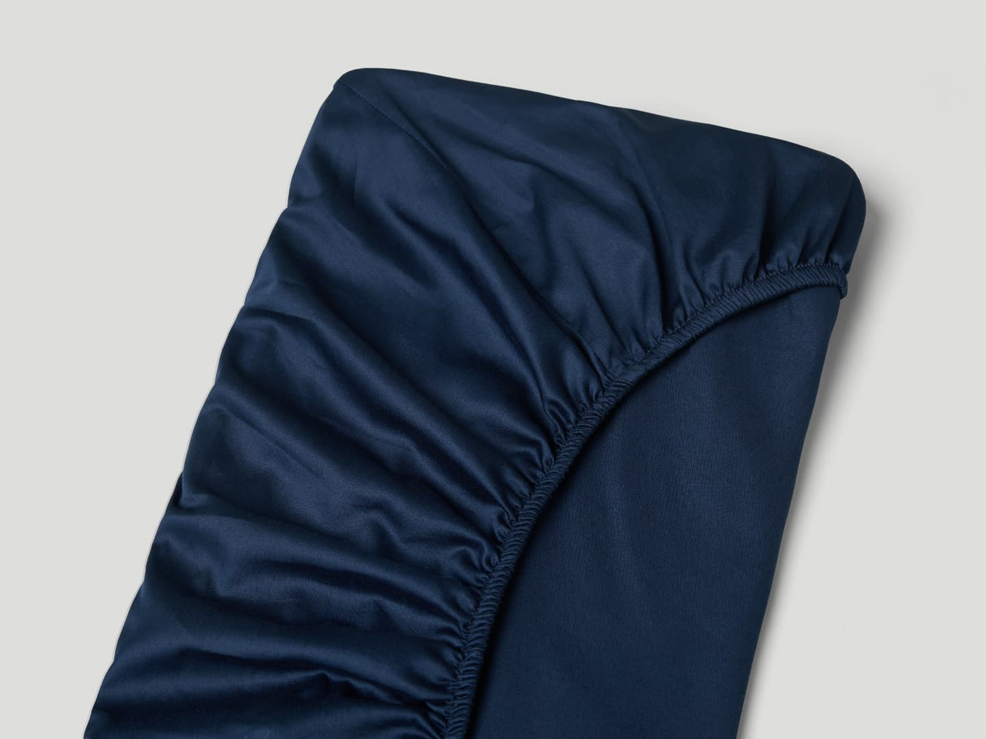 Fitted Sheet Lind - Midnight Blue