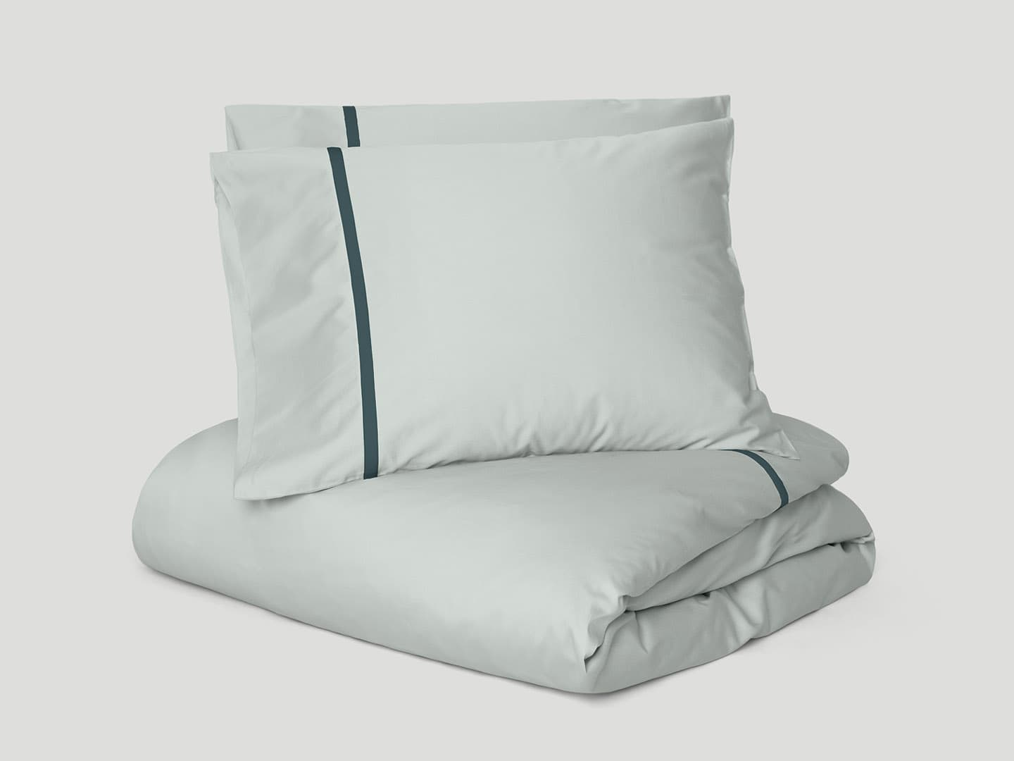 Duvet Cover Gatt - Misty Green