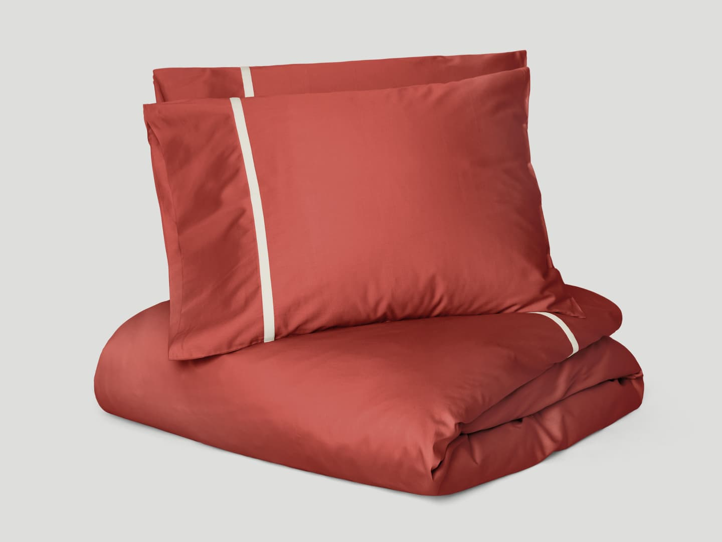 Duvet Cover Gatt - Indian Red