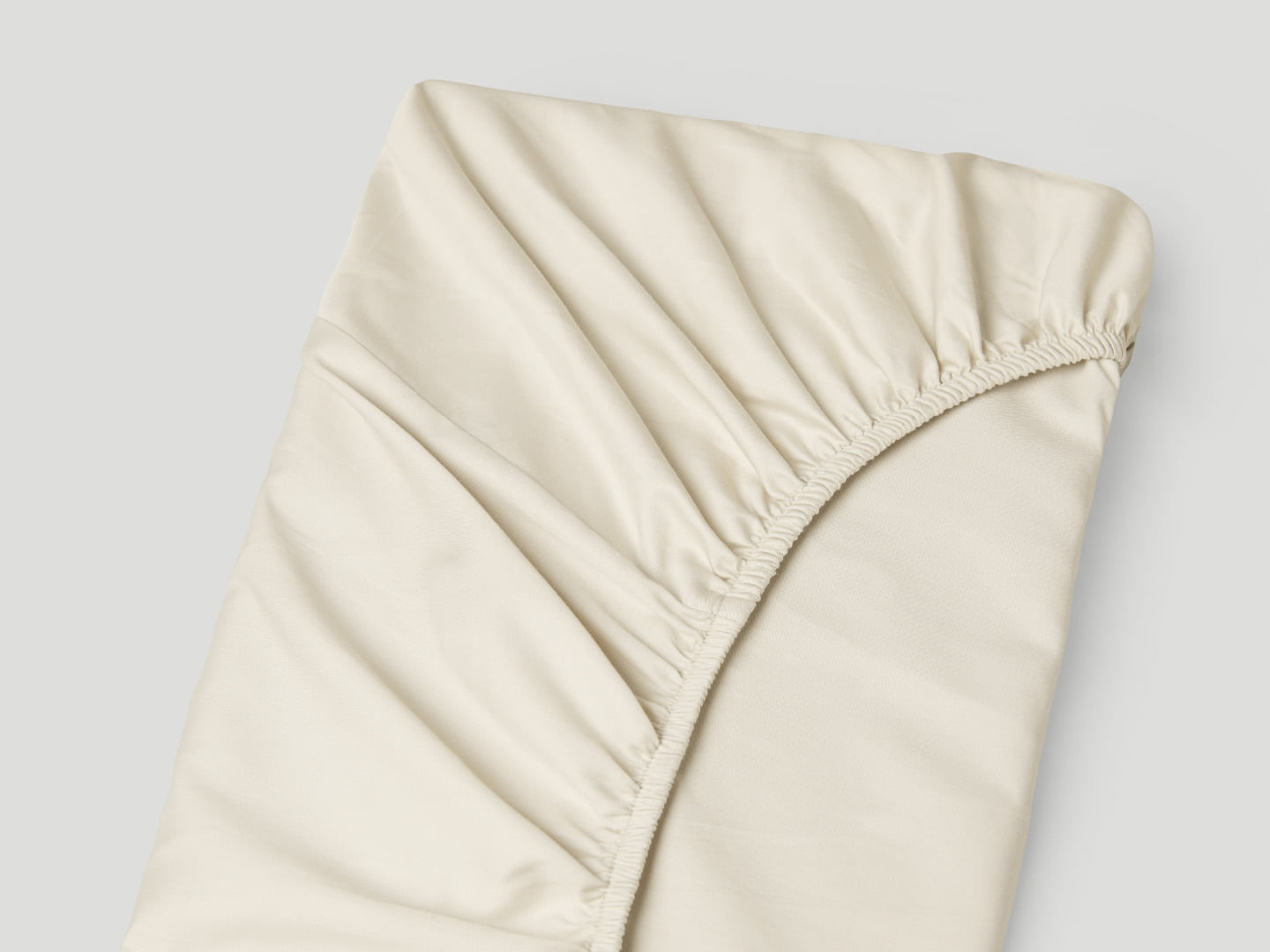Fitted Sheet Lind - Raw Cotton
