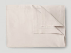 Flat Sheet Lind - Seashell Beige