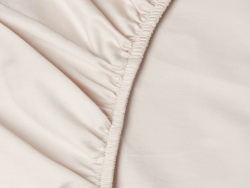 Fitted Sheet Lind - Seashell Beige